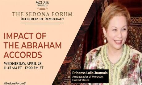 Lalla Joumala Alaoui : Les accords d'Abraham, un «brillant exemple» de solidarité face aux défis régionaux