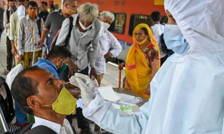 Inde/Covid19: Un nouveau pic de contaminations