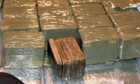 Tanger: Saisie de près de 700 kg de chira, 7 interpellations