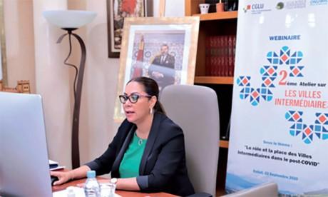 Nouzha Bouchareb.