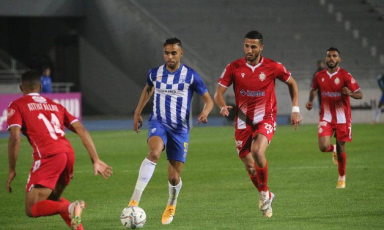 Mohamed Chibi a apporté le coup de grâce au Wydad à la 90e minute, dimanche à Tanger.