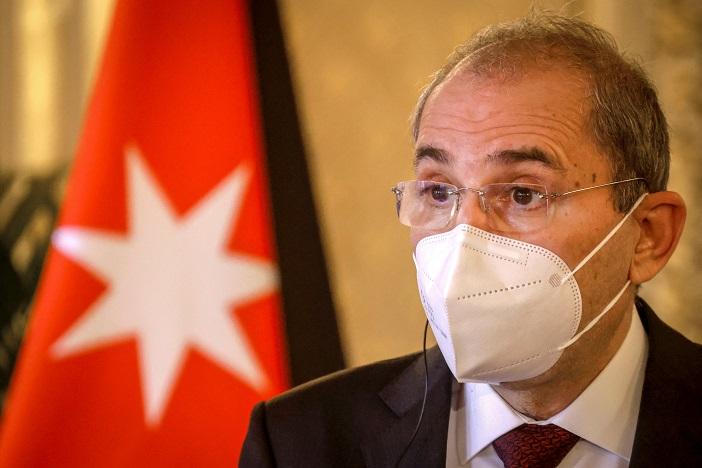 Ayman Safadi, vice-Premier ministre et ministre des Affaires étrangères de Jordanie. Ph. AFP