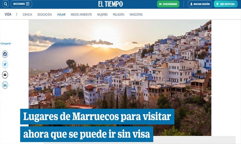 Un journal colombien promeut le Maroc comme destination touristique post-pandémie