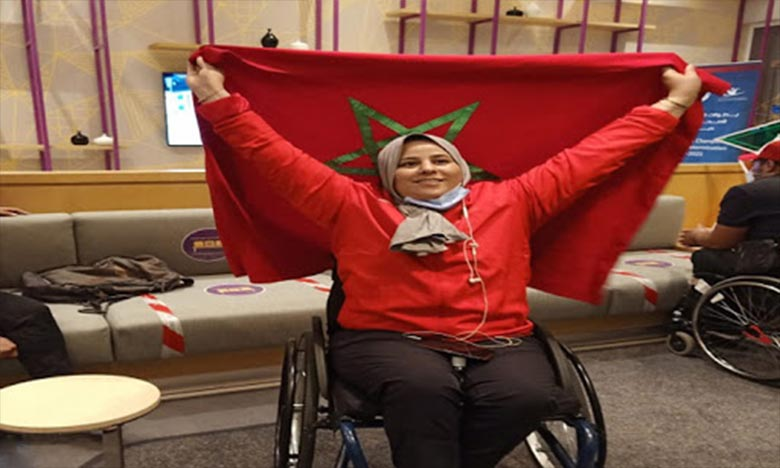 La consécration était attendue puisque l'athlète Saida Amoudi s'est illustrée avec l'équipe nationale dans le cadre de plusieurs manifestations internationales. Ph : DR