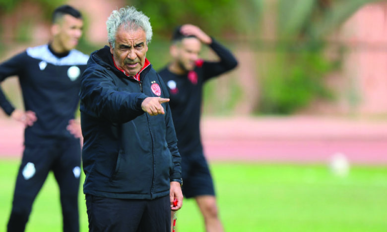 Fawzi Benzarti, entraîneur du WAC.