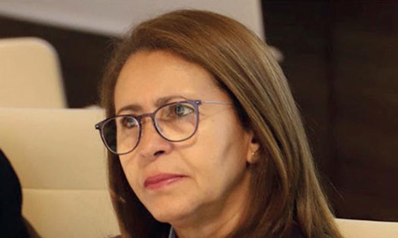 Nouzha Chekrouni.