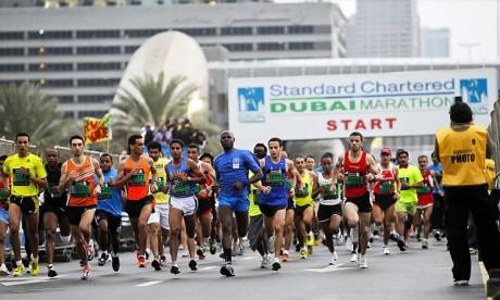 Course à pied 10km à Dubaï: Les coureurs marocains dominent le podium