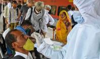 Le ministère indien de la santé a indiqué récemment que le variant pourrait augmenter les taux d'infection et contourner les défenses immunitaires. Ph :  AFP