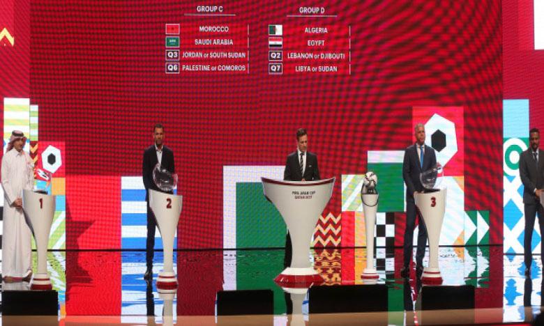 Le Maroc placé dans le groupe C aux côtés  de l'Arabie saoudite
