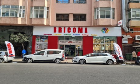 Bricoma pose pied au quartier des hôpitaux à Casablanca