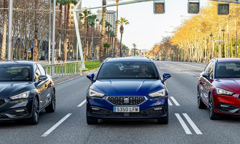 Seat propose des voitures «Créées à Barcelone», avec une technologie de pointe et un design attractif et émotionnel.