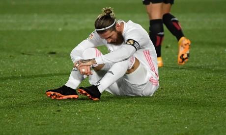 Foot: le capitaine du Real Madrid Sergio Ramos positif au Covid-19