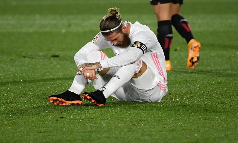 Ramos est le deuxième cas de coronavirus détecté au sein de l'effectif du Real Madrid en une semaine. Ph. AFP