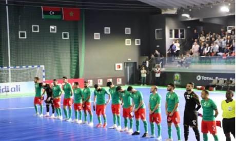 Futsal : La sélection nationale en stage de préparation à Salé