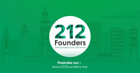 Entrepreneuriat : La 3e édition du programme 212Founders de CDG Invest est lancée