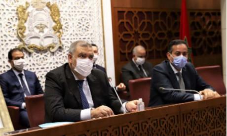 Le ministre de l'Intérieur présente le projet de loi relatif à l'usage légal du cannabis aux parlementaires