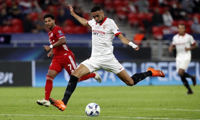 L'international marocain est l'une des révélations du championnat d'Espagne et de la Ligue des champions cette saison. Ph. AFP