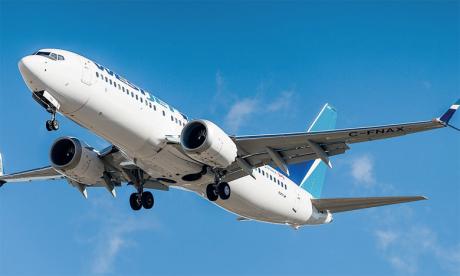 Les livraisons effectuées par Boeing ont été financées à 100% par des tiers.