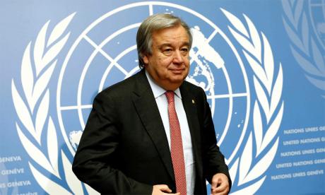 «Alors que le monde évolue vers la dépollution de l'air et les énergies renouvelables, il est essentiel que nous assurions une transition équitable», a déclaré António Guterres. Ph. DR