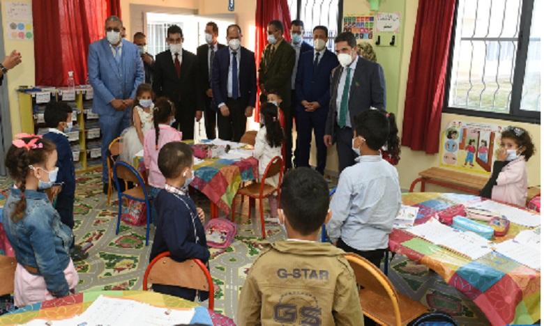 Province d'El Jadida: Inauguration de deux lycées qualifiants