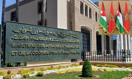 Le Royaume du Maroc exprime son soutien total aux décisions prises par S.M. le Roi Abdallah II Ibn Al Hussein pour garantir la stabilité et la sécurité de la Jordanie