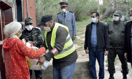 La Fondation Mohammed V pour la solidarité au chevet  des familles démunies
