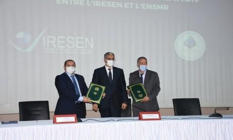 L'ENSMR s'allie à l'IRESEN pour promouvoir la recherche en énergies renouvelables et efficacité énergétique