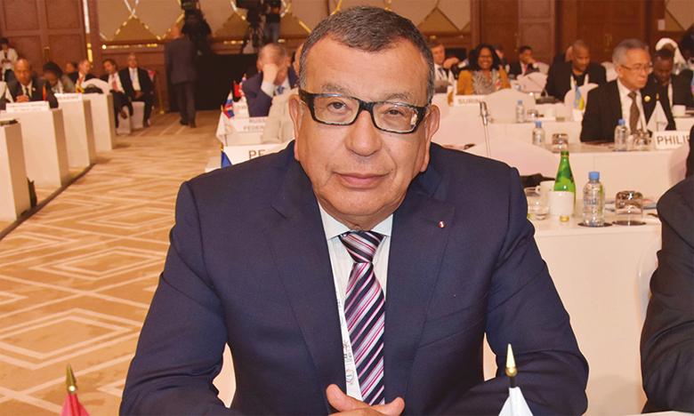 Kamal Lahlou, initiateur de la Journée mondiale du sport.