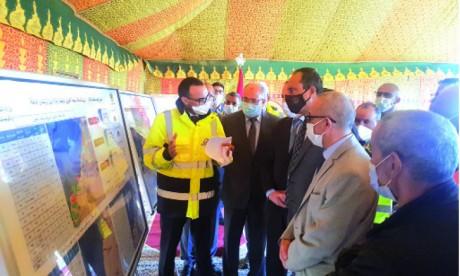 Le taux d'avancement des travaux de la voie express Tiznit-Dakhla atteint 43%