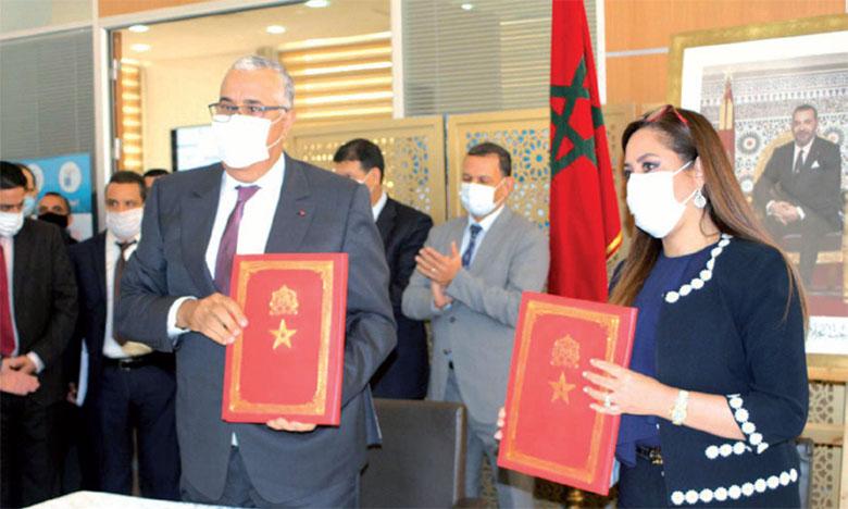 Signature de conventions pour un investissement global de 453,5 millions de DH dans l'Oriental