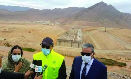 Le barrage Fask près de Guelmim, le plus grand  du Sud marocain, coûtera 1,5 milliard de dirhams