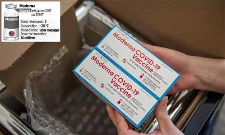 L'OMS donne son homologation d'urgence au vaccin de Moderna