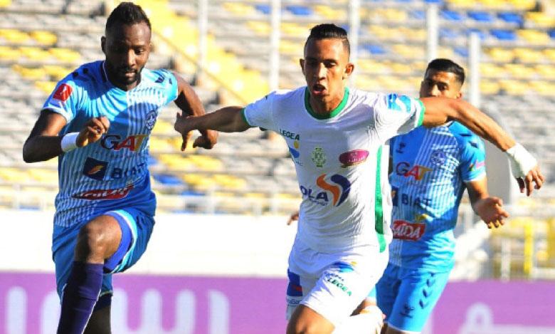 Soufiane Rahimi (ici contre l'US Monastir au tour préliminaire) devra retrouver son efficacité qu'il a perdue depuis son retour du CHAN.