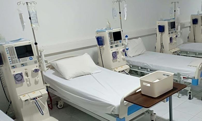 L'appui a porté au niveau du pachalik de Taroudant, sur l'acquisition d'appareils de respiration et des lits de réanimation pour une enveloppe budgétaire de 6.296.777 DH. Ph : DR