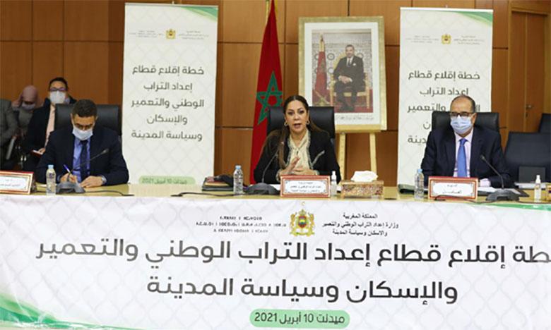 Signature de quatre accords en matière d'urbanisme, d'aménagement du territoire  et de valorisation des Ksour