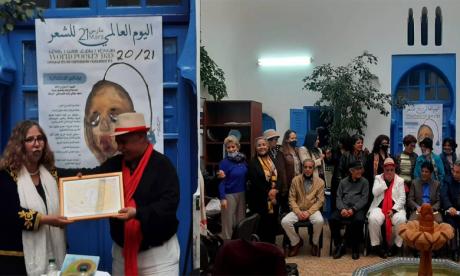 Célébration de la poésie à Rabat.