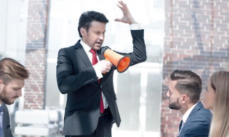 Il existe des métiers où le management autoritaire est très efficace, surtout en situation d'urgence. Ph. Shutterstock