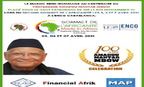 La deuxième édition du Sommet de l'Africanité  à Casablanca du 5 au 7 avril 2021
