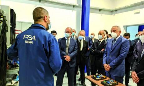 Inauguration du Centre technique des industries des équipements pour véhicules 2.0 «CETIEV 2.0»