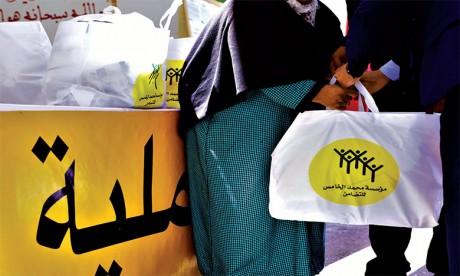 S.M. le Roi donne Ses Hautes Instructions pour le lancement de l'Opération de distribution alimentaire «Ramadan 1442»