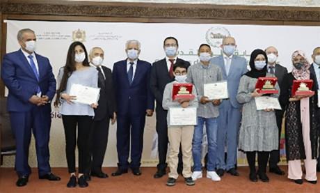 Les lauréats du concours «Les couleurs  d'Al-Aqsa» primés