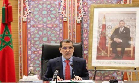 Le Chef du gouvernement, Saad Dine El Otmani.