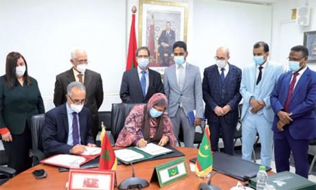 Convention-cadre de partenariat entre Rabat-Salé-Kénitra et la région de Nouakchott