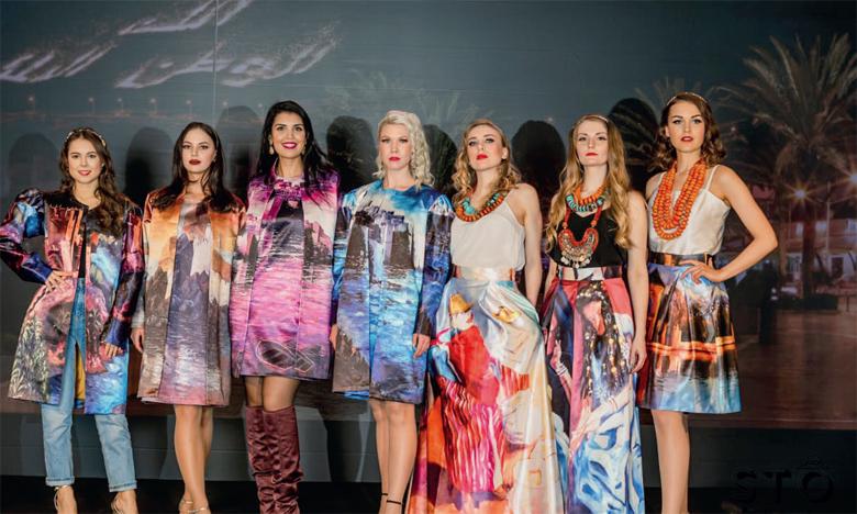 Quand l'art de la peinture entre de plain-pied dans l'univers de la mode