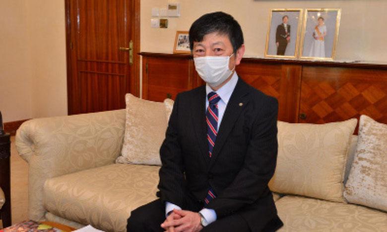 L'ambassadeur du Japon au Maroc, Takashi Shinozuka.