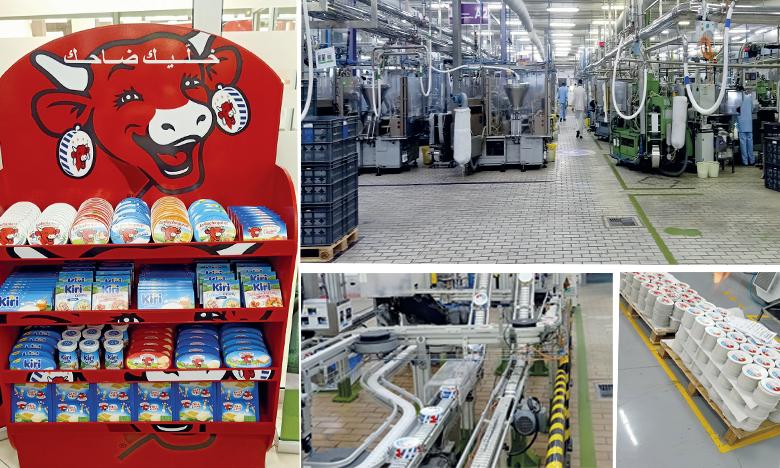 L'usine de Tanger produit plus de 500 références destinées au marché marocain mais aussi à l'export qui engloutit 25% de la production.