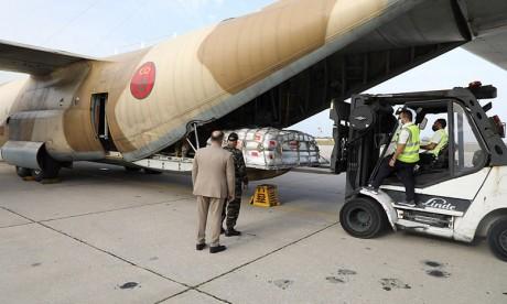 Arrivée à Beyrouth du dernier lot des aides alimentaires destinées aux forces armées et au peuple libanais