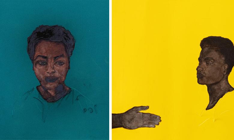 M'barek Bouhchichi investit la galerie d'art l'Atelier 21