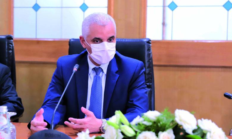 Le ministre de la Santé, Khalid Aït Taleb.