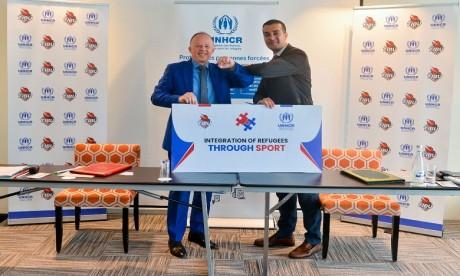 Intégration des réfugiés par le sport: TIBU Maroc et le HCR signent une convention de partenariat